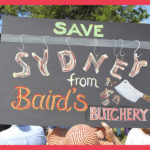 Baird's Butchery, Leichhardt rally, September 2016