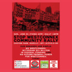 Stop WestConnex Rally flyer, June 2016