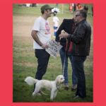 Talking WestCONnex with Albo, Easton Park rally, Rozelle, June 2016